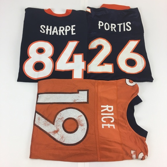wholesale dealer b326e 5807d Denver Broncos 3pc Jersey Bundle Lot